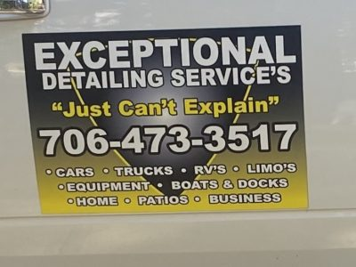 Exceptional Detailing – Christopher Ross 706-473-3517